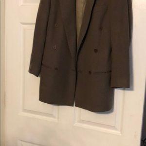Burberry suit coat